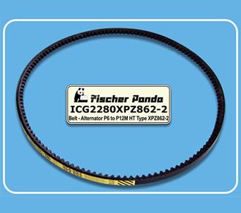Fischer Panda Alternator Belt ICG2280XPZ862-2
