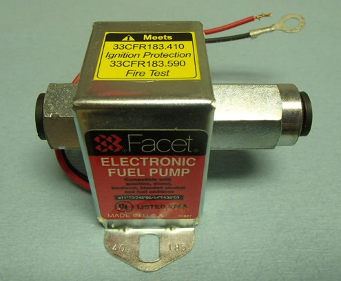 Fischer Panda Electric Fuel Pump SE40185